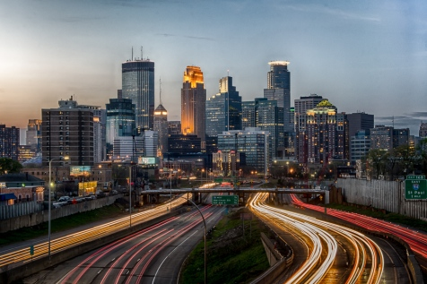 Minneapolis Skyline in 2018